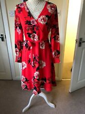 Oasis Floral Dress Coral 10