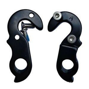 2 X Schraube Fahrrad Schwanz Haken Aluminiumlegierung Aufhänger Hinten Gear