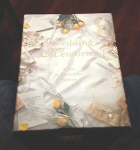 Nice New Wedding Memories Set Factory Sealed IOB  Holds Photos Or Videos
