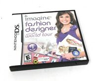 Imagine Fashion Designer World Tour Nintendo Ds Video Game Ebay