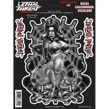 LETHAL THREAT Motorcycle Decal Sticker tankpads24.co.uk