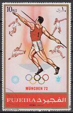 Fujeira 1972 Mi.B882 A fine used c.t.o. Olympische Spiele Olympic Games Munich