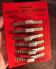 Vintage nos Auto Parts Original Radiator / Hood Mounting Part