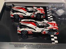 1/43 Spark Toyota TS050 Winner of 2018 Lemans 2 car set Alonso dealer Edition