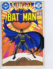 Batman Annual #8 DC Pub 1982