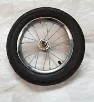 "12"" Inch Bike Bicycle or Scooter wheel with tyre and spindle 12.5 x 2.25 inches"
