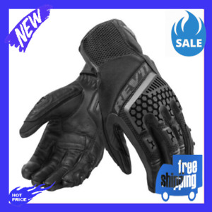 New High Quality Black Trial Motorcycle Adventure Touring Ventilated Gloves
