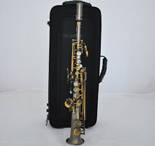 Professional Antique Eb Sopranino Saxophone New Abalone Shell Low Bb High E sax