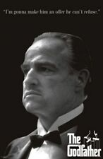 MOVIE POSTER The Godfather An Offer He Can't Refuse Don Corleone Marlon Brando