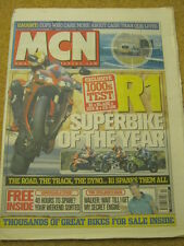 MCN - MOTORCYCLE NEWS - R1 SUPERBIKE OF THE YEAR - 3 March 2004