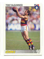 1993 AFL Select card 181 Tony McGuinness - Adelaide