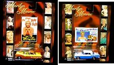 Marilyn Monroe Movie Collection  #3 and #4 1/64 Scale diecast car set of 2 New