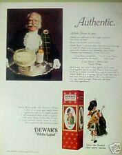 """1970 Dewars Scotch Whisky """"Cameron Highlanders"""" Kilt AD"""
