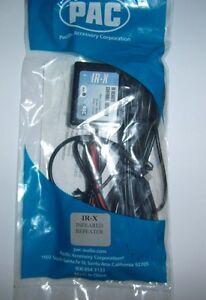 PAC IR-X IRX Infrared Repeater IR Remote Eye Extender Car Audio Video Accessory