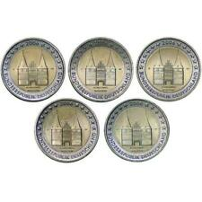 Germany : 5 x 2 euro 2006 Holstentor. Letters : A D F G J. UNC!!