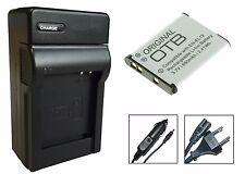 Akku + Ladegerät für Nikon Coolpix S6800 / S6900 / S7000 - EN-EL19