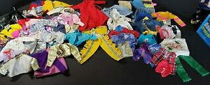BARBIE AND KEN CLOTHES LOT LARGE VINTAGE TO NEW