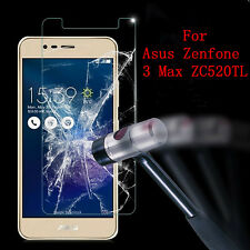 Clear Tempered Glass Screen Film For Asus Zenfone 3 Max ZC520TL