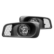 1999-2000 Honda Civic SI Type R JDM Clear Fog Lights Front Bumper Lamps FULL KIT