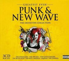CD de musique album en punk/new wave