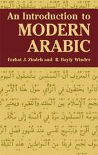 An Introduction to Modern Arabic (Dover Language Guides) Ziadeh, Farhat J., Win