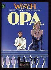 LARGO WINCH  n°3  O.P.A.  FRANCQ / VAN HAMME   DUPUIS  EO 1992