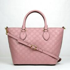907b1521e6cf New Gucci Rose Guccissima Leather Crossbody Handbag 432124 5812