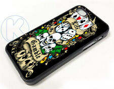 ar1307Ed+Hardy+Life Is A+Gamble Case cover fits iPhone Apple Samsung galaxy Plus