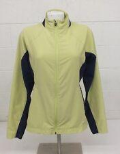GoLite Yellow & Purple Polyester-Spandex Athletic Jacket Women's Medium GREAT