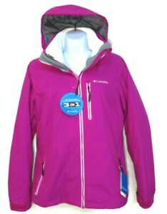 COLUMBIA WOMEN'S SLOPE SWEETIE 3-IN-1 I/C JACKET Size S(Small) #3414-650 $220.