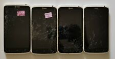 Lot Of Four Untested Htc One X Smartphone (At&T) - Gray