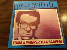 "Rare Dutch ELVIS COSTELLO 7"" 45 From a Whisper Holland Unique PS Glenn Tilbrook"