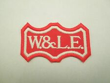 Vintage W&LE Wheeling & Lake Eerie Railway RR Railroad Embroidered Sew On Patch