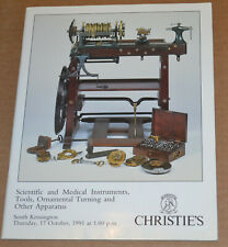 Christie'S Scientific and Medical Instruments, Tools, Ornamental Turning