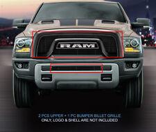 Fedar Fits 2015-2017 Dodge RAM Rebel 1500 Black Billet Grille Insert