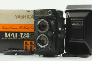 RARE 【Unused in Box】 Yashica Mat-124G 6x6 TLR Medium Format Camera From JAPAN