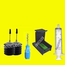 60 ml negro recarga tinta para HP60 62 63 HP63 HP62 cartucho, estabilizador