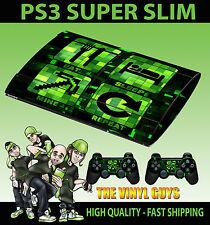 Playstation PS3 Super Snellente Mangiare per Dormire Mio Repeat Pellicola