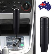 AU Universal Black Aluminum Manual Car Gear Stick Shifter Shift Knob Lever 130mm