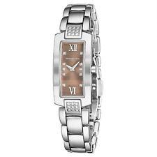 Raymond Weil Women's Shine Brown Dial Stainless Steel Quartz Watch 1500.ST300775