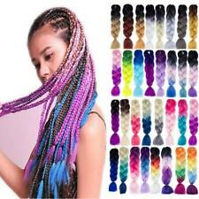24 Synthetic Afro Twist Braids Kanekalon Jumbo Ombre Braiding  Hair Extensions