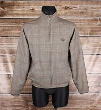 Fred Perry Sportswear Men Wool Vintage Bomber Jacket Size 91cm 36'', Genuine