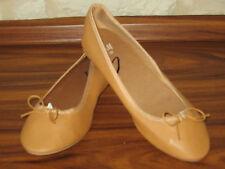 H&M Ballerina Schuhe Halbschuhe Gr. 37 camel braun NEU 3-99