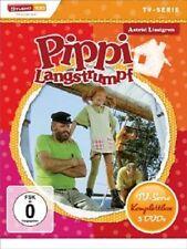 PIPPI LANGSTRUMPF TV-SERIE-KOMPLETTBOX  (5 DVD)  KINDERFILM  NEU