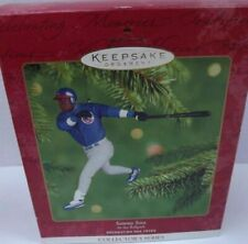 Sammy Sosa At the Ballpark Hallmark Collector's Series Nib, #6 in Series.