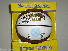TYLER HANSBROUGH Signed 09 Champions UNC Basketball Auto North Carolina BLOWOUT