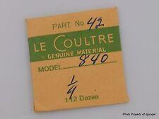 Jaeger LeCoultre Crown Wheel Screw Cal. 840 Part #5420