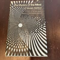 The Mystery of the Mind ~ Wilder Penfield 1975 hcdj FIRST EDITION 1st PRINT Rare