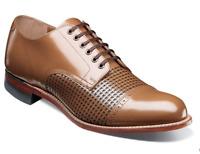 Stacy Adams Madison Shoes Cap Toe Oxford Oak 00905-224