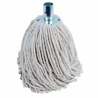 Metal SOCKET MOP HEAD Absorbent Cotton Floor Cleaning Domestic Commercial 280g